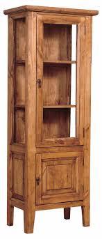 ideas china hutch decor pinterest: rustic pine curio cabinet rusticpinefurniture furniture