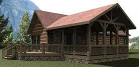 Mountain House Plans  Mountain Cabin Plans  Small Mountain House    cabin house plan