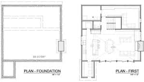 Solaripedia   Green Architecture  amp  Building   Projects in Green    Blue House Floor Plan One and Foundation