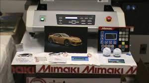 <b>Mimaki UJF 3042 FX</b> best Demo video on the web!! PDS DIGITAL ...