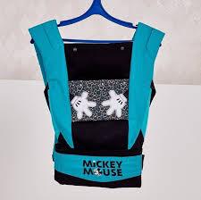 """<b>Рюкзак</b>-<b>кенгуру Polini kids Disney</b> baby """"Микки Маус"""", с вышивкой ..."""
