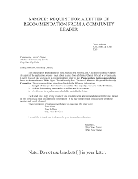 how to write a sorority recommendation letter letter format  letter