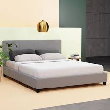 Hans Double <b>Grey Bed Frame</b> | Bunnings Warehouse