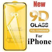 Новинка 9D <b>полное покрытие</b> из закаленного <b>стекла для</b> iPhone ...