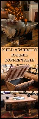 how to build a whiskey barrel coffee table httpvidstaged authentic jim beam whiskey barrel table