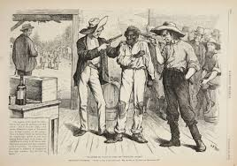 mark twain huckleberry finn and race in postbellum america image of of course he wants to vote the democratic ticket
