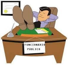 Resultado de imagem para funcionários públicos fingindo trabalhar