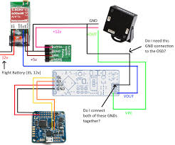 minimosd do i need to connect the video camera gnd here is a diagram of my setup i ur com zcipowf jpg