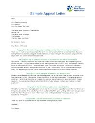 sample appeal letter sample appeal letter 4645