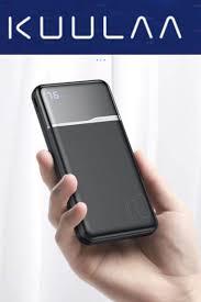 <b>KUULAA Power Bank</b> 10000mAh | External battery charger, Iphone ...