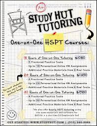 hut flyer hspt copy study hut tutoring study hut tutoring hut flyer hspt copy