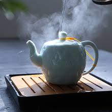 <b>Dehua</b> Celadon, изысканный чайный <b>горшок</b>, китайский стиль ...