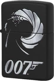 29566 <b>Зажигалка Zippo James Bond</b> 007, Black Matte