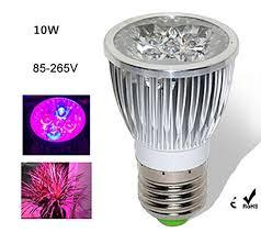 <b>LED Plant Grow Light</b> Bulb10W Growing <b>Lamp E27</b> Indoor ...
