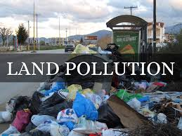 land pollution or soil pollution causes effects control