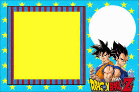 dragon ball z printable invitations is it for parties is dragon ball z printable invitations
