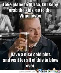 Nice Cold Pint by Bleak - Meme Center via Relatably.com