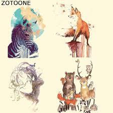 <b>ZOTOONE</b> Pyrography 18*17 Cm Warm Cartoon <b>Fox</b> Thermal ...