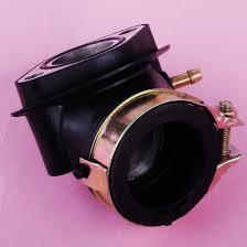 beler <b>Motorcycle Carburetor Intake Manifold</b> Pipe Fit for GY6 <b>Moped</b> ...