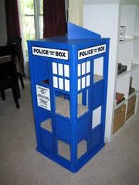 images about Doctor Who on Pinterest   Cat Houses  Doctor    CAT TARDIS  Step one  convince the boyfriend that this is necessary to have in