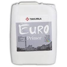 Tikkurila <b>Euro</b> Primer <b>Грунт</b> глубокого проникновения ✔︎ Купить ...
