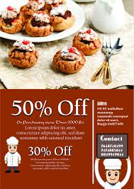 engaging bake flyer templates for fundraising events bake flyer template 8