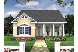 Eplans Bungalow House Plan   Formal Bungalow   Square Feet    Front