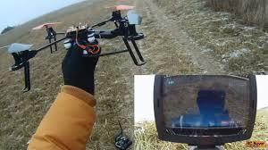 <b>Квадрокоптер Wltoys</b> V666 FPV, дальность полета - YouTube