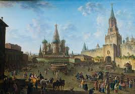 <b>Алексеев</b> Ф.Я. «Красная площадь в Москве»