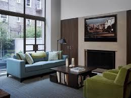 room blue green home design