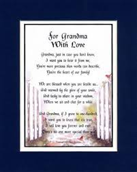 Mothers Day Poems In Spanish Grandmothers – Grandma Poems Mothers ... via Relatably.com