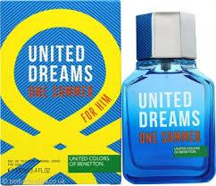 <b>Benetton United Dreams One</b> Summer Eau de Toilette 100ml Spray