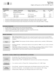sample resume fresher free resume samples for freshers