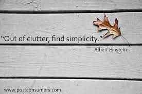 Image result for einstein clutter quote