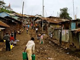 photo essay  nairobi    s kibera slumkibera road