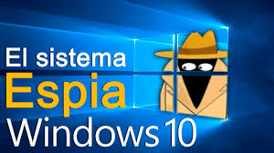 Resultado de imagen de windows te espia