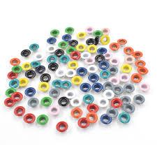 <b>100pcs</b>/<b>lot</b> Paint color eyelets. Eyelets rivets. Corn. Color ...