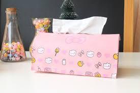 2018 Creativity Tissue Box Loveliness Cartoon Kt Cat <b>Hello Kitty Pu</b> ...