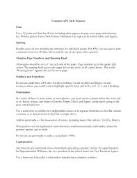 letter in apa format best template collection resume cover letter apa style