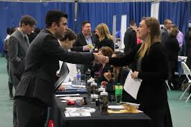 career fair attracts more than employers today drew employers seek full time workers and interns