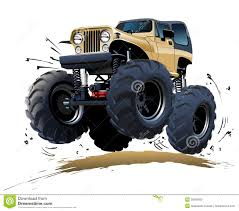 download muddy monster truck clipart