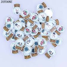 <b>ZOTOONE</b> Random Mixed 50Pcs <b>Christmas</b> Crystal Ball Pattern ...