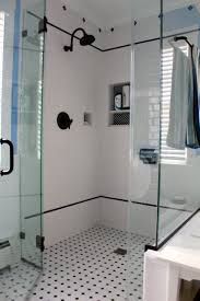 glossy blue square tile bathroom  images about second bathroom ideas on pinterest black and white tiles
