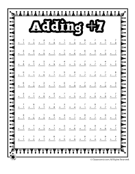 Addition Worksheets: Practice Adding Single Digits - Woo! Jr. Kids ...Addition Worksheets: Practice Adding Single Digits - Woo! Jr. Kids Activities