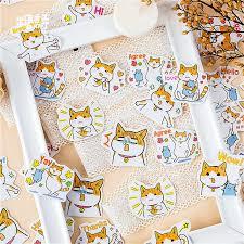 <b>45pcs</b>/<b>pack</b> Kawaii Stationery Stickers <b>cute dog</b> pattern ...