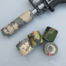 Outdoor <b>Retractable</b> Camouflage Tape Camo <b>Self</b>-<b>adhesive Non</b> ...