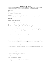 samples of college student resumes example of sample resume    business