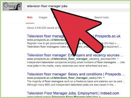 how to become a tv studio floor manager steps pictures
