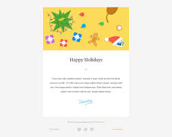 wonderful christmas new year email templates web graphic exclusive christmas newsletter