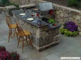 patio outdoor stone kitchen bar:  images about outdoor bars on pinterest simple outdoor kitchen bar and built in grill